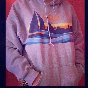 Men's or oversized hoodie for girls